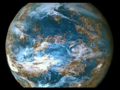 الأرض من الفضاء