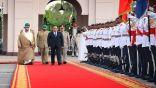 استقبال السيسي في البحرين على أنغام مسلسل رأفت الهجان
